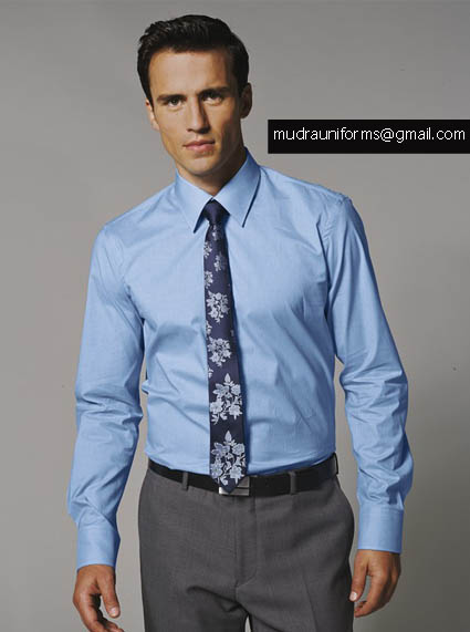 Mudra uniforms india private limited ahmedabad india for Corporate shirts for men